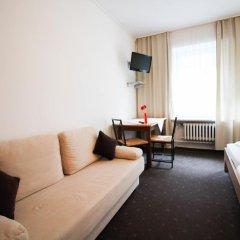 Отель Pension/Guesthouse am Hauptbahnhof Стандартный номер с двуспальной кроватью (общая ванная комната) фото 26