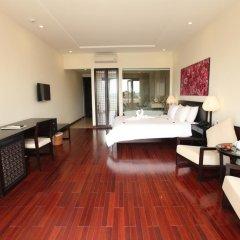 Отель Thanh Binh Riverside Hoi An 4* Номер Делюкс с различными типами кроватей фото 12