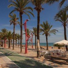 Отель Estudios RH Vinaros пляж