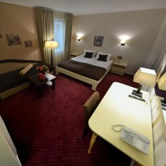 Гостиница Ajur 3* Стандартный номер 2 отдельными кровати фото 23