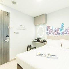 Fragrance Hotel - Selegie 3* Улучшенный номер с различными типами кроватей