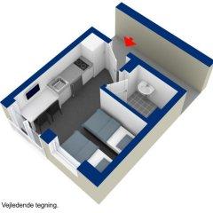 Отель ApartHotel Faber 3* Стандартный номер разные типы кроватей фото 5
