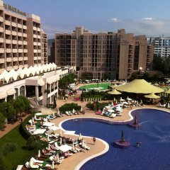 Отель Menada Apartments in Royal Beach Болгария, Солнечный берег - отзывы, цены и фото номеров - забронировать отель Menada Apartments in Royal Beach онлайн спортивное сооружение