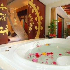 Отель Suuko Wellness & Spa Resort 4* Вилла разные типы кроватей фото 4