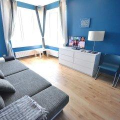 Гостиница Two-bedroom aparment on Gornaya комната для гостей фото 4