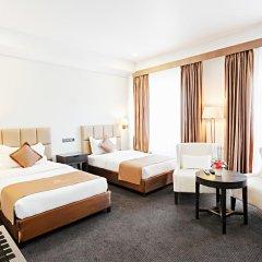 Отель Амбассадор 4* Стандартный номер с двуспальной кроватью фото 8