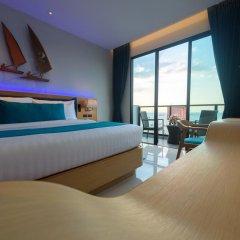 Отель Deep Blue Z10 Pattaya Стандартный номер с различными типами кроватей фото 30