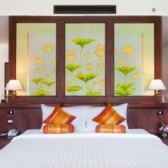 Отель Alpina Phuket Nalina Resort & Spa 4* Улучшенный номер с двуспальной кроватью фото 7