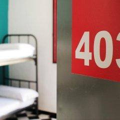 Hostel New York Кровать в общем номере с двухъярусной кроватью фото 6