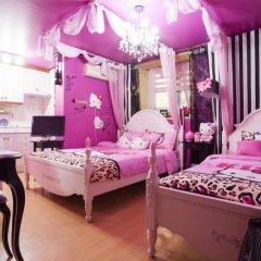 Отель Han River Guesthouse 2* Студия с различными типами кроватей фото 24