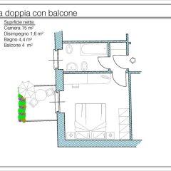 Отель Albergo Ristorante Carenno 2* Стандартный номер фото 7