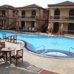 Отель Resort Terra Paraiso Индия, Гоа - отзывы, цены и фото номеров - забронировать отель Resort Terra Paraiso онлайн бассейн фото 3
