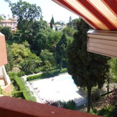 Отель Le Parc de Cimiez Ницца балкон