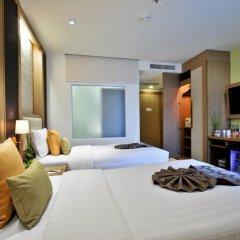 The ASHLEE Plaza Patong Hotel & Spa 4* Улучшенный номер с различными типами кроватей фото 5
