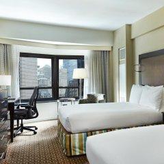 Отель New York Hilton Midtown 4* Номер Skyline с 2 отдельными кроватями