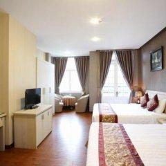 Mountain Town Hotel 3* Стандартный семейный номер с двуспальной кроватью фото 8
