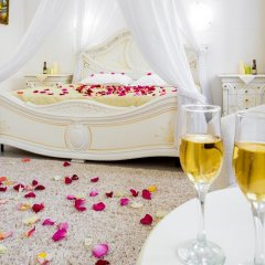 Гостиница Огни Енисея Стандартный номер двуспальная кровать фото 4