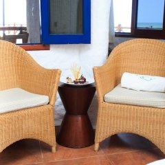 Отель Las Nubes de Holbox 3* Бунгало с различными типами кроватей фото 2