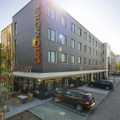 Отель Letomotel Munchen City Nord Мюнхен парковка