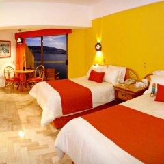 Copacabana Beach Hotel Acapulco 3* Улучшенный номер с двуспальной кроватью фото 4