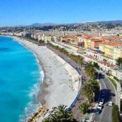 Hotel La Pérouse Nice Baie des Anges 4* Стандартный номер с разными типами кроватей фото 5