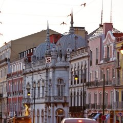 Отель Memmo Principe Real Лиссабон городской автобус