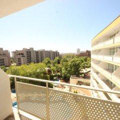 Отель Menada Oasis Resort Apartments Болгария, Солнечный берег - отзывы, цены и фото номеров - забронировать отель Menada Oasis Resort Apartments онлайн балкон