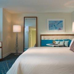 Отель Renaissance Aruba Resort & Casino 4* Стандартный номер с различными типами кроватей фото 3