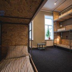 Хостел Bliss Кровать в общем номере с двухъярусной кроватью