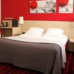 Отель Hôtel Le Richemont 3* Стандартный номер с двуспальной кроватью фото 8