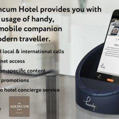 Отель Aquincum Улучшенный номер с различными типами кроватей фото 4