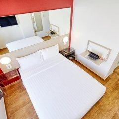 Отель Red Planet Bangkok Asoke 2* Стандартный номер с различными типами кроватей фото 6