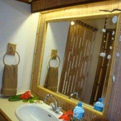 Отель Blue Heaven Island Французская Полинезия, Бора-Бора - отзывы, цены и фото номеров - забронировать отель Blue Heaven Island онлайн ванная фото 3
