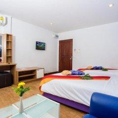 Отель Sea Breeze Jomtien Residence 3* Улучшенный номер с различными типами кроватей фото 5