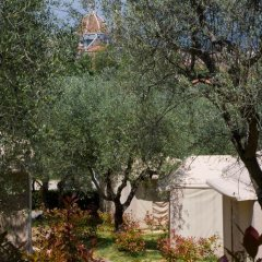Отель Camping Michelangelo Кровать в общем номере фото 7
