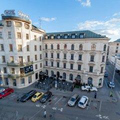 Отель SLAVIA парковка