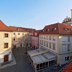 Отель Tyn Square балкон