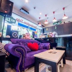Отель Triple 8 Inn Bangkok Таиланд, Бангкок - отзывы, цены и фото номеров - забронировать отель Triple 8 Inn Bangkok онлайн гостиничный бар