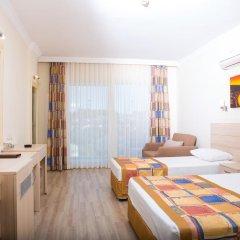 Gardenia Beach Hotel Турция, Окурджалар - 1 отзыв об отеле, цены и фото номеров - забронировать отель Gardenia Beach Hotel - All Inclusive онлайн комната для гостей фото 5