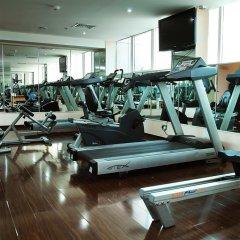 Отель Smana Al Raffa Дубай фитнесс-зал