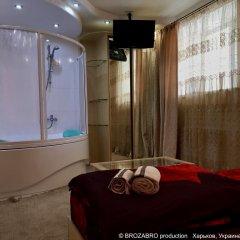 Гостиница Kharkovlux 2* Люкс с различными типами кроватей фото 9