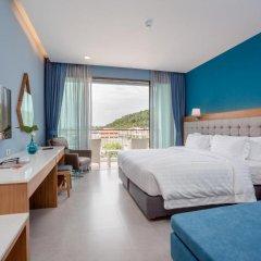 Отель BlueSotel Krabi Ao Nang Beach 4* Улучшенный номер с различными типами кроватей фото 6
