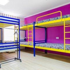 Hostel Veselka - Key2Gates Кровать в общем номере с двухъярусной кроватью