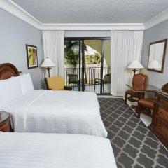 Отель Marriott Cancun Resort 4* Стандартный номер с различными типами кроватей фото 4