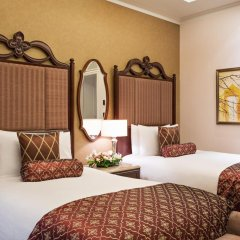 Лотте Отель Москва 5* Улучшенный номер разные типы кроватей фото 10