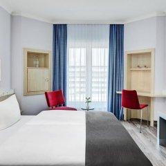 Отель IntercityHotel Rostock 3* Стандартный номер с различными типами кроватей фото 4