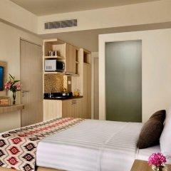 Отель Citadines Kuta Beach Bali 4* Студия Делюкс с двуспальной кроватью фото 4