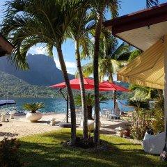 Отель Villa Oramarama by Tahiti Homes Французская Полинезия, Папеэте - отзывы, цены и фото номеров - забронировать отель Villa Oramarama by Tahiti Homes онлайн пляж