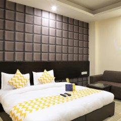 Отель FabHotel Aksh Palace Golf Course Road 3* Номер Делюкс с различными типами кроватей