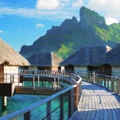 Отель Four Seasons Resort Bora Bora 5* Люкс с различными типами кроватей фото 9